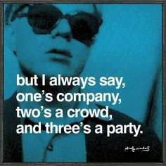 andy warhol quotes-- He's an introvert like me :) Andy Warhol Pop Art, Andy Warhol Quotes, The Words, Party Hard, Party Time, Bien Dit, Little Bit, Party Poster, Dot And Bo