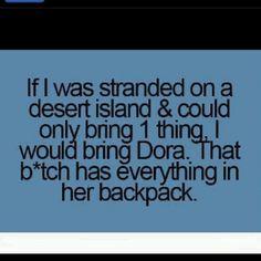 so true! #dora