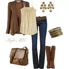 Cute fall ensemble, with navy leggings or slim slacks I can wear it to work too.