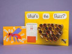 Craft Hive - great idea for a bee theme! Bee Activities, Spring Activities, Multicultural Activities, How Bees Make Honey, Honey Bees, Reggio, Preschool Lessons, Preschool Ideas, Bee Crafts