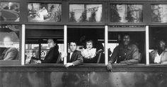 Robert Frank. Canal Street – New Orleans, 1955.