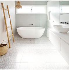 Small Bathroom Storage, Ikea Bathroom, Diy Bathroom Decor, Bathroom Interior Design, Modern Bathroom, Room Tiles, Bathroom Floor Tiles, Grey Flooring, Bathroom Renovations