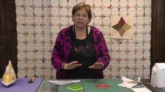 http://missouriquiltco.com -- Jenny clarifies how to make the perfect prairie point. This tutorial is an add-on to our Periwinkle Block
