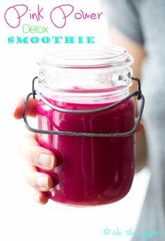 Introducing Vegan Glow + Pink Power Detox Smoothie Recipe — Oh She Glows