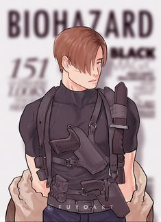 Resident Evil Anime, Leon S Kennedy, Video Game Characters, Fictional Characters, Twitter Video, The Borgias, Player 1, Art Reference Poses, Tag Art