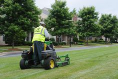 Lawn care services by professionals play a huge role in keeping the vast lawns wonderful. Home Improvement Companies, Lawn Care, Lawn Mower, Outdoor Power Equipment, Beautiful Homes, Lawns, Play, Healthy, Summer