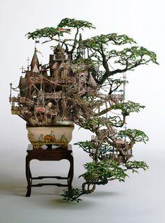 Bem Legaus!: Miniaturas fantásticas (fantastic miniatures) created by Takanori Aiba