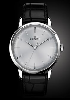 """Zenith Watches Elite 6150 Watch With New Zenith In-House Movement Inside - by David Bredan - see more about the release on aBlogtoWatch.com """"Welcome to the Zenith Elite 6150, the manufacture's updated dress watch line that features a new in-house movement. While it'd be easy to say that Zenith and its El Primero are absolutely inseparable, the company has actually been offering the Elite line of dress watches, coming with a more simple feature set and a dressier look than most El…"""