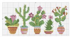 Cactus Cross Stitch, Cross Stitch Tree, Beaded Cross Stitch, Cross Stitch Borders, Cross Stitch Baby, Modern Cross Stitch, Cross Stitch Flowers, Cross Stitch Designs, Cross Stitching