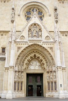 https://flic.kr/p/f9CFK3 | Croatia-00489 - Zagreb Cathedral Entrance | PLEASE, no multi invitations or self promotion in your…