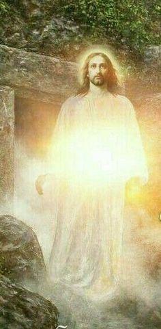Resurrection of Jesus Pictures Of Jesus Christ, Jesus Christus, Jesus Art, Jesus Resurrection, Biblical Art, In Christ Alone, Jesus Is Lord, Jesus Prayer, Sacred Art