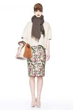 j.crew fall 2013 collection look book- love this mix of patterns - my neutral look