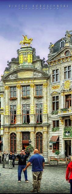 The Grand Place. Brussels, Belgium | Viktor Korostynski