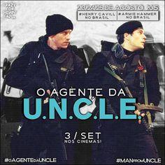 Friozinho na barriga. 17 dias para a chegada de nossos agentes da O Agente da U.N.C.L.E. ao Brasil! #oagentedauncle @themanfromuncle