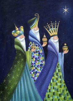 Ileana Oakley - Three Kings Religious Christmas