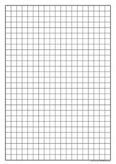 graph paper printable Graph Paper to Print - Squared Paper Graph Paper Drawings, Graph Paper Art, Make Your Own Graph, Grid Paper Printable, Jumper Knitting Pattern, Pad Design, Chicken Scratch, Parchment Craft
