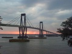 Bridge Corrientes to Resistencia - Argentina. traveled over this every day for a month and a half.. Corrientes was like the Des Moines side where all the fancy restaurants and clubs were