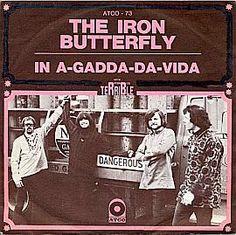 """""""In A-Gadda-Da- Vida"""", word's were Slurred"""" after Red Wine, (In The Garden of Eden)"""