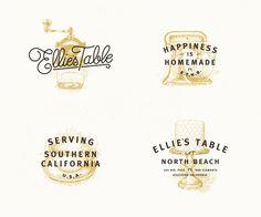 Bakery and Café Identity Design: Ellie's Table by Brian Rau