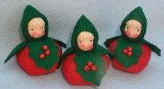 Atelier Pippilotta :: Feestdagen Pakketten :: drie hulstkinderen
