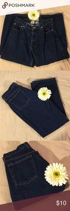 Medium Dark Wash Size 4 Petite Medium Dark Wash 100% Cotton Size 4 Petite Jeans. Flare, Loose Fit. Faded Glory Faded Glory Jeans Flare & Wide Leg