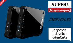 Διαγωνισμός i-TECH4u με δώρο devolo GigaGate Starter Kit