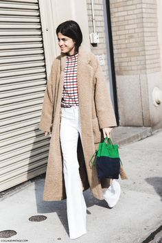 """Leandra Medine out-and-about in Fall 2015 (AKA """"The Man Repeller"""")"""