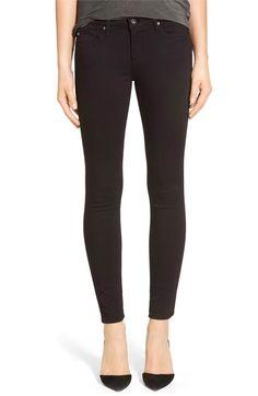 Main Image - AG 'The Legging' Ankle Super Skinny Jeans (Super Black)