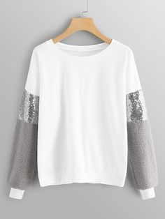 Get comfy now – and never pay too much again! Drop Shoulder Sweater now on mikar… - Pullover Winter Mode Outfits, Winter Fashion Outfits, Hijab Fashion, Girl Fashion, Womens Fashion, Fashion Trends, Jeans Fashion, Outfit Winter, Cheap Fashion