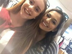 Beth with a fan at the Grove in LA! (August 9th)