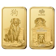 8 x Gold Ingot Multi-pack by PAMP with a Stunning design to Celebrate the Chinese Lunar Year of the Dog. Ideal as a single gift or investment or broken down into 8 individual ingots. Gold Bullion Bars, Silver Bullion, Scrap Gold, Coin Grading, Dog Years, Gold Price, Silver Coins, Go Shopping, Special Gifts
