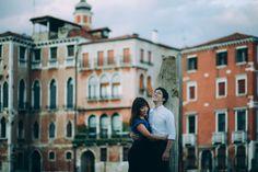 Engagement Photoshoot Venice Italy #asian #couple #venice #italy #engagement #proposal