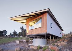 Studio Osk's Woodend House boasts serious passive house principles