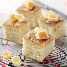 An all time classic. This delicious St Clements Tray Bake Recipe is best eaten warm.