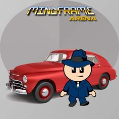 Detective or Lawyer? Game Dev, Mobile Game, Lawyer, Detective, Family Guy, Animation, Illustration, Frame, Fictional Characters