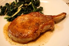 The perfect pork chop is an inch thick, seared on the stovetop to a lovely golden brown, then finished in the oven. Learn how to cook pork chops.
