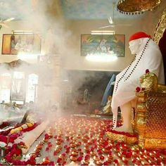 Have faith in your devotion for Sai. He works in mysterious ways.om sai ram Sai Baba Pictures, God Pictures, Sai Baba Wallpapers, Baba Image, Krishna, Shiva, Om Sai Ram, Heartbroken Quotes, Sathya Sai Baba