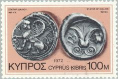 Sello: Silver Stater of Idalion (Chipre) (Ancient Coins of Cyprus) Mi:CY 383,Yt:CY 375