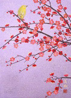花舞小枝 2011年-9-野地美樹子 Japanese Patterns, Japanese Art, House Of Flying Daggers, Vintage Floral Wallpapers, Memoirs Of A Geisha, Art Drawings Beautiful, Moon Painting, Naive Art, Asian Art