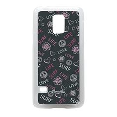 Love Life Surf Pink Crystal Clear Hard Plastic Case for Galaxy S5 Mini by Gadget Glamour  FREE Crystal Clear Screen Protector >>> Check out this great product. (Note:Amazon affiliate link)