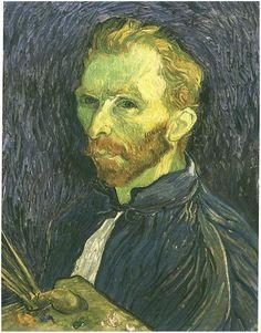 Self-Portrait Vincent van Gogh Painting, Oil on Canvas Saint-Rémy: late August, 1889 National Gallery of Art Washington D.C.