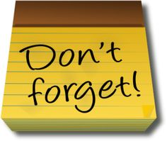 reminder sticky dont forget sticky note x image vector clip art rh pinterest com dont forget clipart don't forget to vote clipart