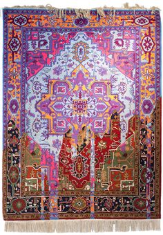 Traditional Rugs Recreated with Technological Glitches by Faig Ahmed - My Modern Met