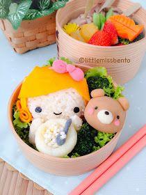 Little Miss Bento  シャリーのかわいいキャラベン: Goldilocks Bento 三びきのくま・童話のキャラベン
