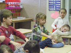le massage à l'école | Misa-France.fr