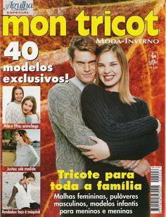 Revista MON TRICÔ Nº 6 - Receita Tricô Fácil
