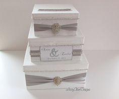 Custom Made Wedding Box Card Holder Reception