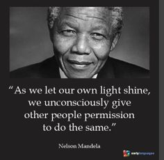 Nelson Mandela Leadership Quotes Freedom Fighters Pinterest