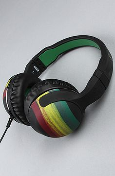 ba773aa741a $60 Skullcandy Headphones in Rasta Colors-- Use repcode SMARTCANUCKS at the  checkout on Karmaloop