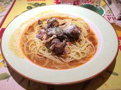 ラーラさんの牛肉のスパゲティー